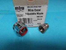 Mira Adjustable Nipple Assembly chrome 1608.024